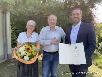Detlev Zenk erhält Ehrenring der Stadt Dormagen   Rhein-Kreis Nachrichten - Klartext-NE.de