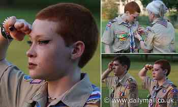Virginia honors first non-binary Eagle Scout who received coveted accolade with their big brother