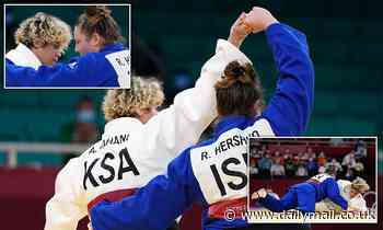 Saudi judo Olympian ignores pressure to boycott bout against Israeli