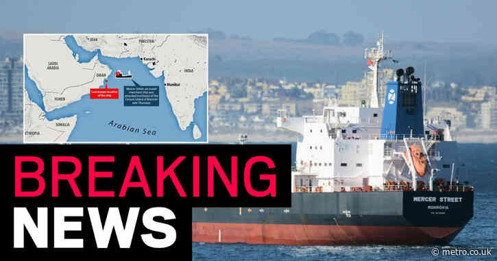 Crew member from UK among two killed in attack on oil tanker near Oman