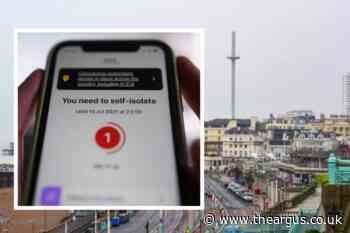 NHS Covid-19 app 'pings' rise in Brighton and Hove