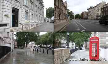 Whitehall deserted as Boris Johnson is urged to push for workers to return to the office