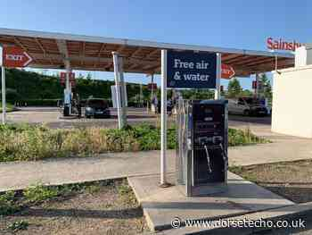 Weymouth Sainsbury's free air and water machine FINALLY fixed after months - Dorset Echo