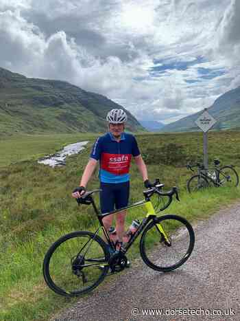 Weymouth veteran cycles almost 1,000 miles for charity - Dorset Echo
