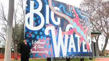Kerri Weymouth named Western Riverina Artist of the Month for work on Wiradjuri walk - Area News