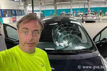Carwash loopt slecht af voor auto van Bart De Wever - Gazet van Antwerpen