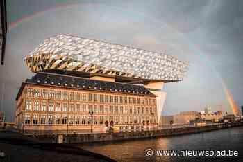 Schitterende beelden van (dubbele) regenboog boven Antwerpen... (Antwerpen) - Het Nieuwsblad