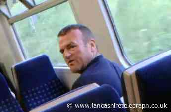 Police release image after man seen hitting child on-board train