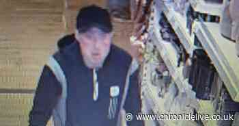 CCTV image released after suspected theft and assault at The Range in Durham