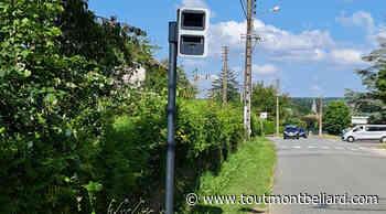 Radars urbains dans le Pays de Montbéliard : Valentigney - ToutMontbeliard.com