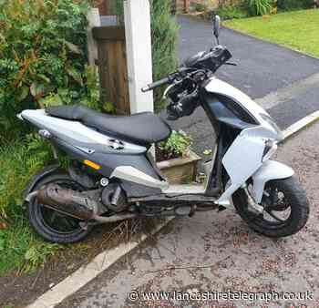 Dumped scooter being driven 'anti-socially' in Bacup recovered by police