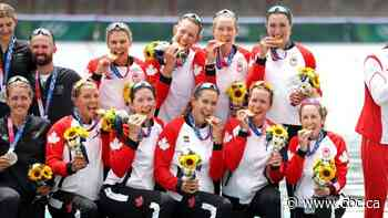 Canada's women's eight rowing crew captures Olympic gold for 1st time in 29 years