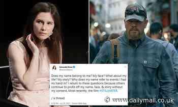 Amanda Knox slams Matt Damon for 'profiting from her story' with new movie Stillwater