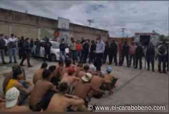 Presos en la Policía Municipal de Los Guayos se amotinaron para exigir plan cayapa - El Carabobeño