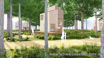 Neues Tourismusprojekt - Waldchalets sollen in Bad Wildbad Familien anlocken - Schwarzwälder Bote