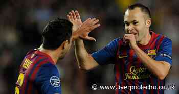 Liverpool midfielder compared to Xavi and Andres Iniesta after pre-season game