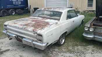 Unrestored 1964 Chevrolet Chevelle SS Is a Hip-Hop Music Star, V8 Still Alive - autoevolution