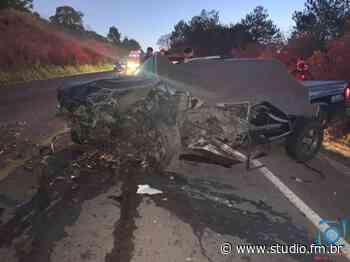 Homem morre após colisão frontal no trecho Passo Fundo/Coxilha - Rádio Studio 87.7 FM | Studio TV | Veranópolis
