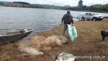 Patram flagra pesca ilegal na represa do Rio Passo Fundo em Ronda Alta (RS) - Portal Pesca Amadora Esportiva
