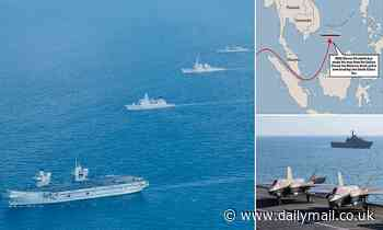 Britain is 'a bi*ch asking for a beating' with its South China Sea warship challenge, Beijing warns