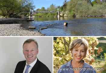 MP blasts Herefordshire river pollution 'blame culture'