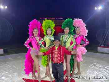 Zippos Circus happy to be back performing in Brighton