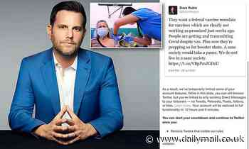Twitter LOCKS account of conservative commentator Dave Rubin over COVID vaccines tweet