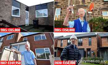Disabled mugging victim Alan Barnes, 73, moves house for a SIXTH time