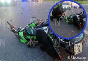 Yucatán: Muere motociclista que se impactó contra una pipa en la Mérida-Progreso - sipse.com