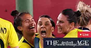 Tokyo Olympics as it happened: Sam Kerr double puts Matildas into medal rounds; Women's Sevens out; McKeon wins gold