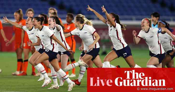 USA beat Netherlands on penalties in Olympic women's football quarter-final – live!