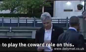Providence mayor calls Rhode Island Gov a 'coward' during public clash
