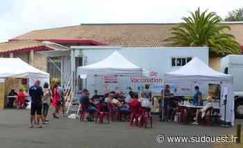 Vieux-Boucau : près de 100 saisonniers vaccinés grâce au vaccibus - Sud Ouest