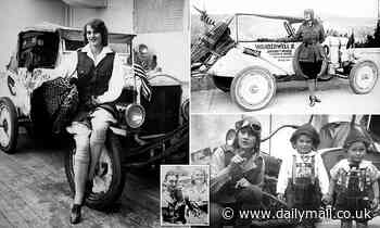 How 16-year-old 'female Indiana Jones' Aloha Wanderwell travelled the world in a Model T Ford