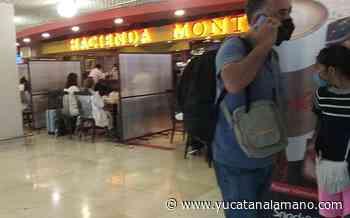 Con mamparas, aeropuerto de Mérida busca evitar contagios de COVID-19 - Yucatán a la mano