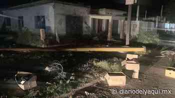 Tormenta eléctrica causa estragos en Huatabampo - Diario del Yaqui