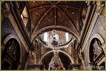 El Santuario de Guadalupe, con daños en cúpula principal, notaría y sacristía - UDG TV