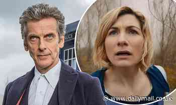 Peter Capaldi offers words of support for Jodie Whittaker amid Doctor Who departure