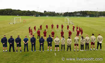 Liverpool FC Women pay respects to Andrew Devine