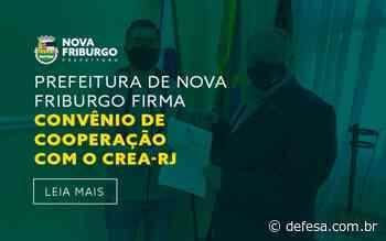 PREFEITURA DE NOVA FRIBURGO FIRMA CONVÊNIO DE COOPERAÇÃO COM O CREA-RJ - Defesa - Agência de Notícias