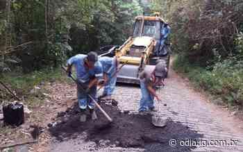 Acesso ao Caledônia em Nova Friburgo começa a ser recuperado - O Dia
