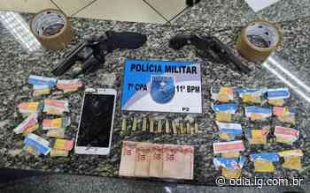 Suspeito de tráfico é preso com dois revólveres em Nova Friburgo - O Dia