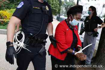 Sheila Jackson-Lee arrested at voting rights protests on Capitol Hill