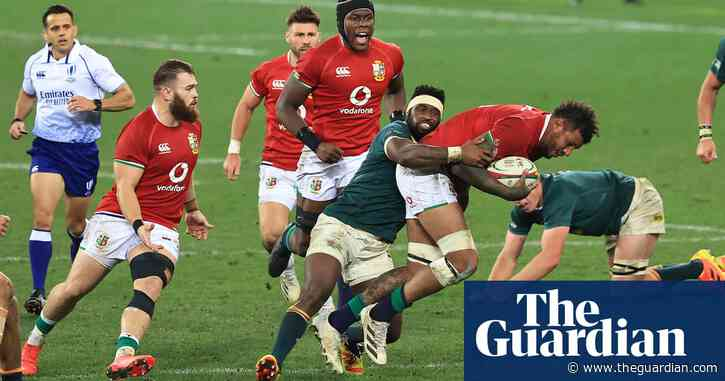 Kolisi claims lack of respect shown to him by referee in first Lions Test