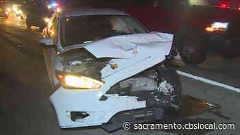 3-Car Crash On I-80 In Natomas Blocks Lanes Friday Morning