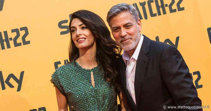 """""""La moglie di George Clooney Amal Alamuddin è incinta"""". L'attore diventerà papà a 60 anni? L'indiscrezione"""