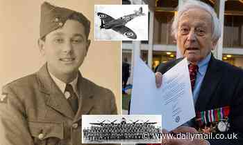 Dambusters 617 Squadron pilot 'once borrowed Spitfire to perform aerobatics over garden party'