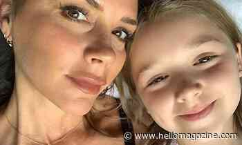 Harper Beckham takes after mum Victoria in the sweetest mini-me dress