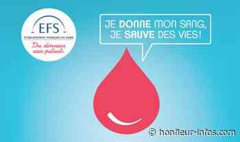 Collecte de sang le 10 Août à Honfleur... - Honfleur Infos