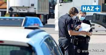 Polizei kontrolliert Lkw auf Autobahn bei Lehrte - Hannoversche Allgemeine